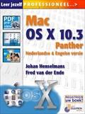 Leer jezelf PROFESSIONEEL... Mac OS X 10.3 Panther
