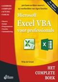 Het complete Boek: Excel VBA voor professionals