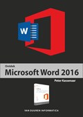 Ontdek Word 2016