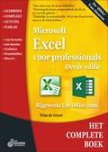 Het complete boek Excel voor professionals, 3e editie