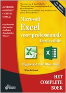 omslag Het complete boek Excel voor professionals, 3e editie