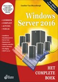Het complete boek Windows Server 2016