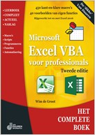 omslag Het Complete Boek: Excel VBA voor professionals, 2e editie