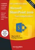 Het complete boek SharePoint 2016