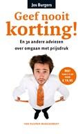 Geef nooit korting! (e-book)
