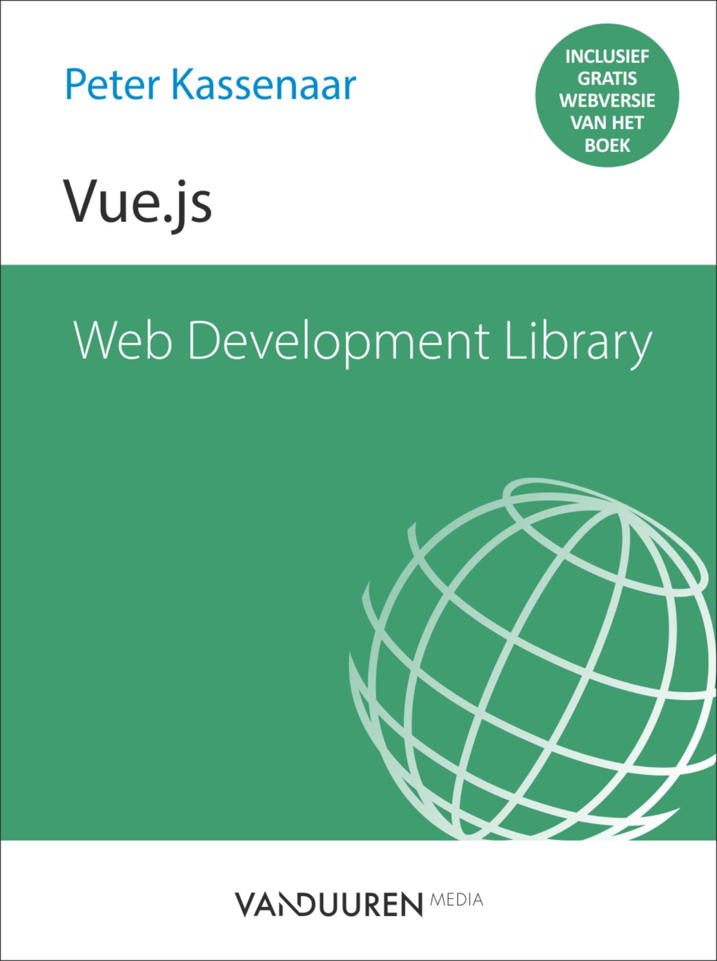 Web Development Library - Vue js - Van Duuren Media