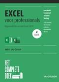 Het Complete Boek Excel voor professionals, 4e editie